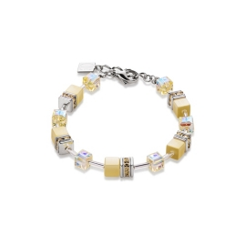 coeur-de-lion-geo-cube-bracelet-light-yellow